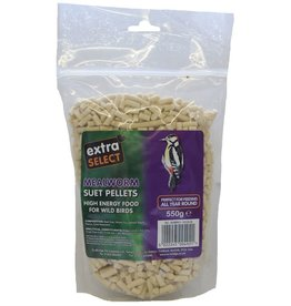 Extra Select High Energy Wild Bird Suet Pellets with Mealworm 3kg