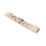 Farmfood Rawhide White Rawhide Braided Stick Dog Chew, Medium 17cm