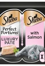 Sheba Perfect Portions Luxury Pate Wet Cat Food with Salmon 3 x 2 x 37.5g
