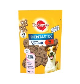 Pedigree Dentastix Chewy Chunx Mini Dog Treats Beef Flavour, 68g