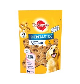 Pedigree Dentastix Chewy Chunx Maxi Dog Treats Chicken Flavour, 68g