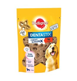 Pedigree Dentastix Chewy Chunx Maxi Dog Treats Beef Flavour 68g