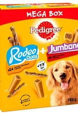 Pedigree Rodeo Duos and Jumbone Mega Box Dog Treats 780g