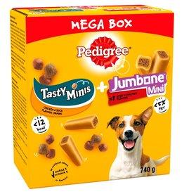 Peregrine Tasty Minis and Mini Jumbone Mega Box Dog Treats 740g