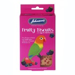 Johnsons Veterinary Fruity Biscuits Treats with Egg & Wild Berries for Cage Birds