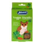 Johnsons Veterinary Veggie Biscuits Treats with Dried Carrot & Spinach for Small Animals