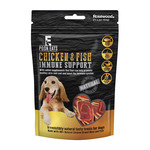 Rosewood Posh Eats Immune Support Chicken & Fish Rolls with Omega 3+6 Dog Treats, 80g