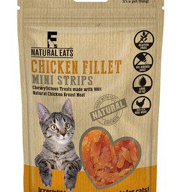 Rosewood Natural Eats Chicken Fillet Mini Strips Cat Treats, 50g