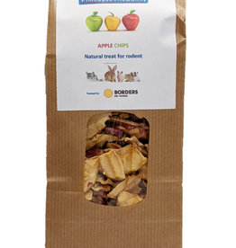 Borders Small Animal Dried Apple Chips 70g