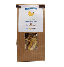 Borders Small Animal Sugar Free Banana Chips, 70g