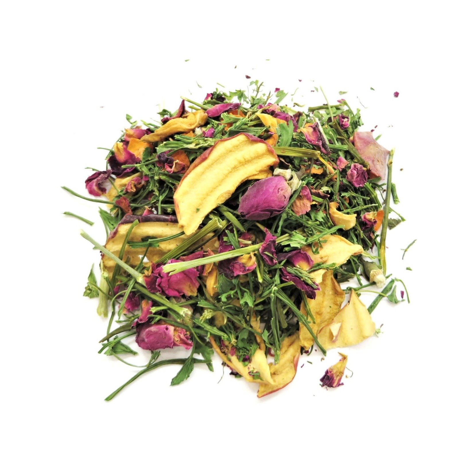 Borders Complete Small Animal Mix 'Everything But' - parsley, dill stalks, celery, apple chips, rose flowers, carrot 70g