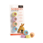 sharples Small N Furry Small Animal Nibbles Mineral Candy Cup Cake Chews, 4 pieces