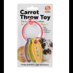 sharples Carrot Throw Rabbit Toy