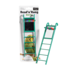 sharples Bead 'n' Rung Ladder Cage Bird Toy