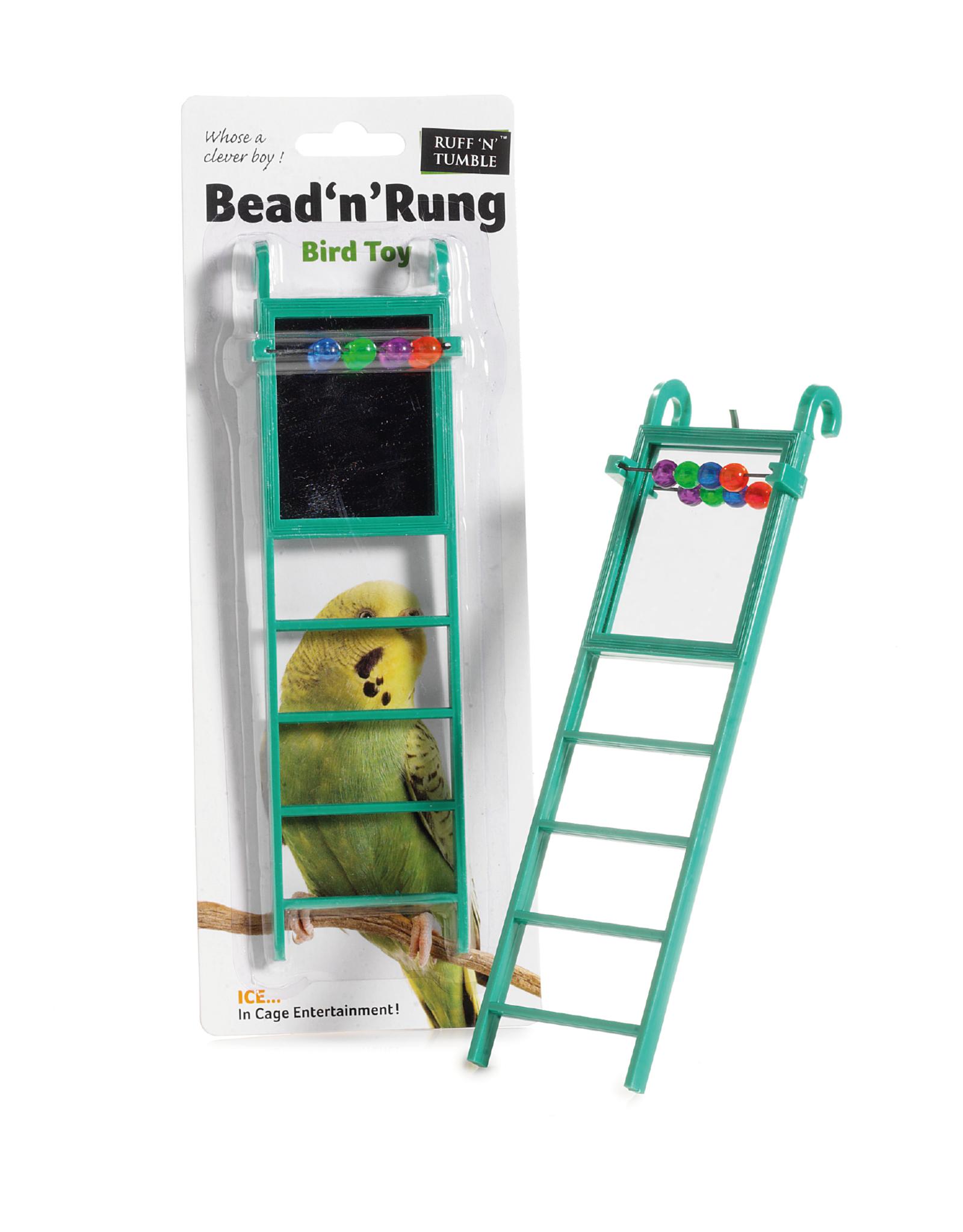 sharples Bead 'n' Rung Cage Bird Toy