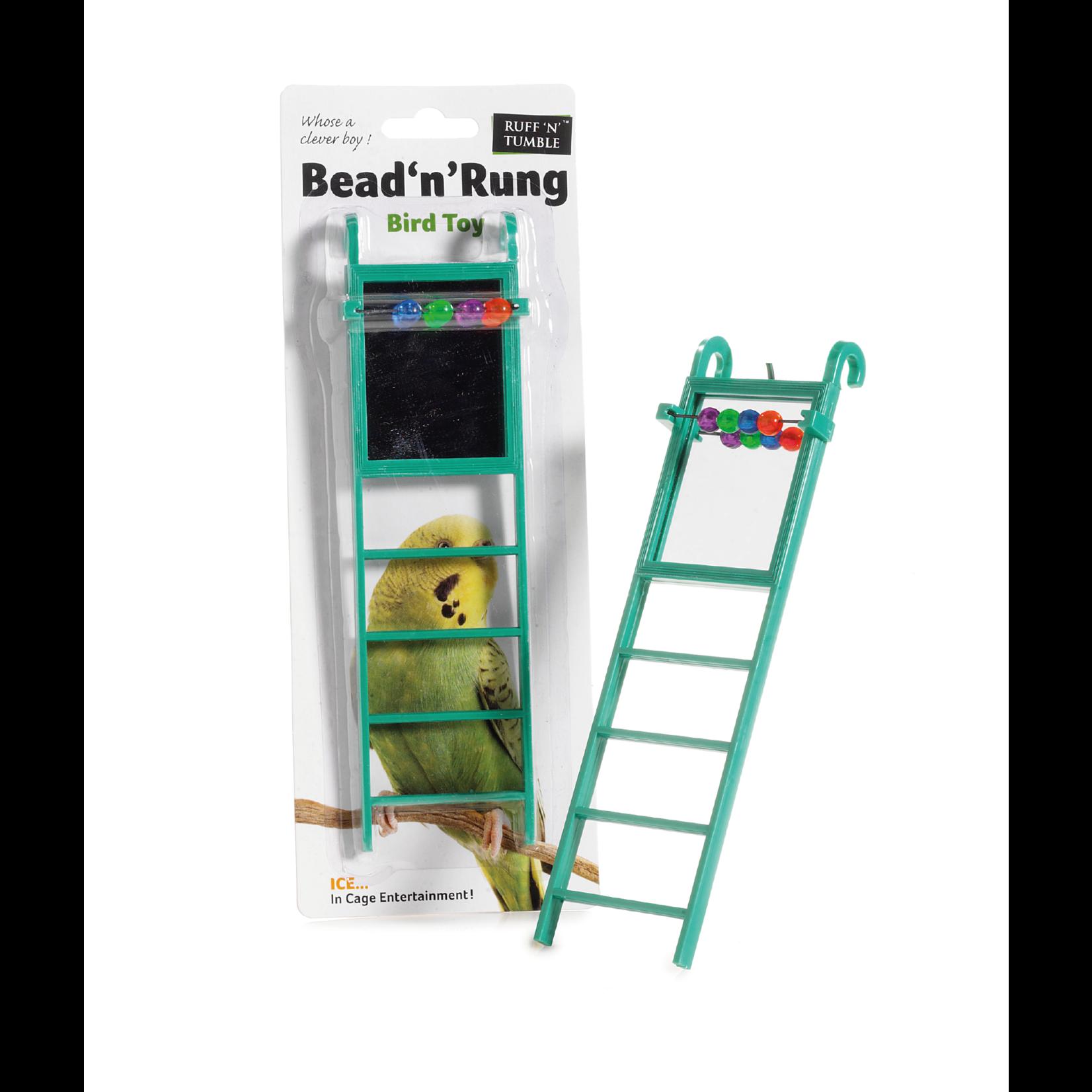sharples Bead 'n' Rung Ladder Cage Bird Toy