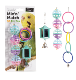 sharples Mixed Cage Bird Toy Pack