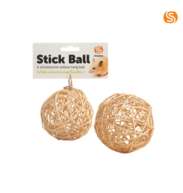 sharples Willow Twig Stick Ball Small Animal Toy