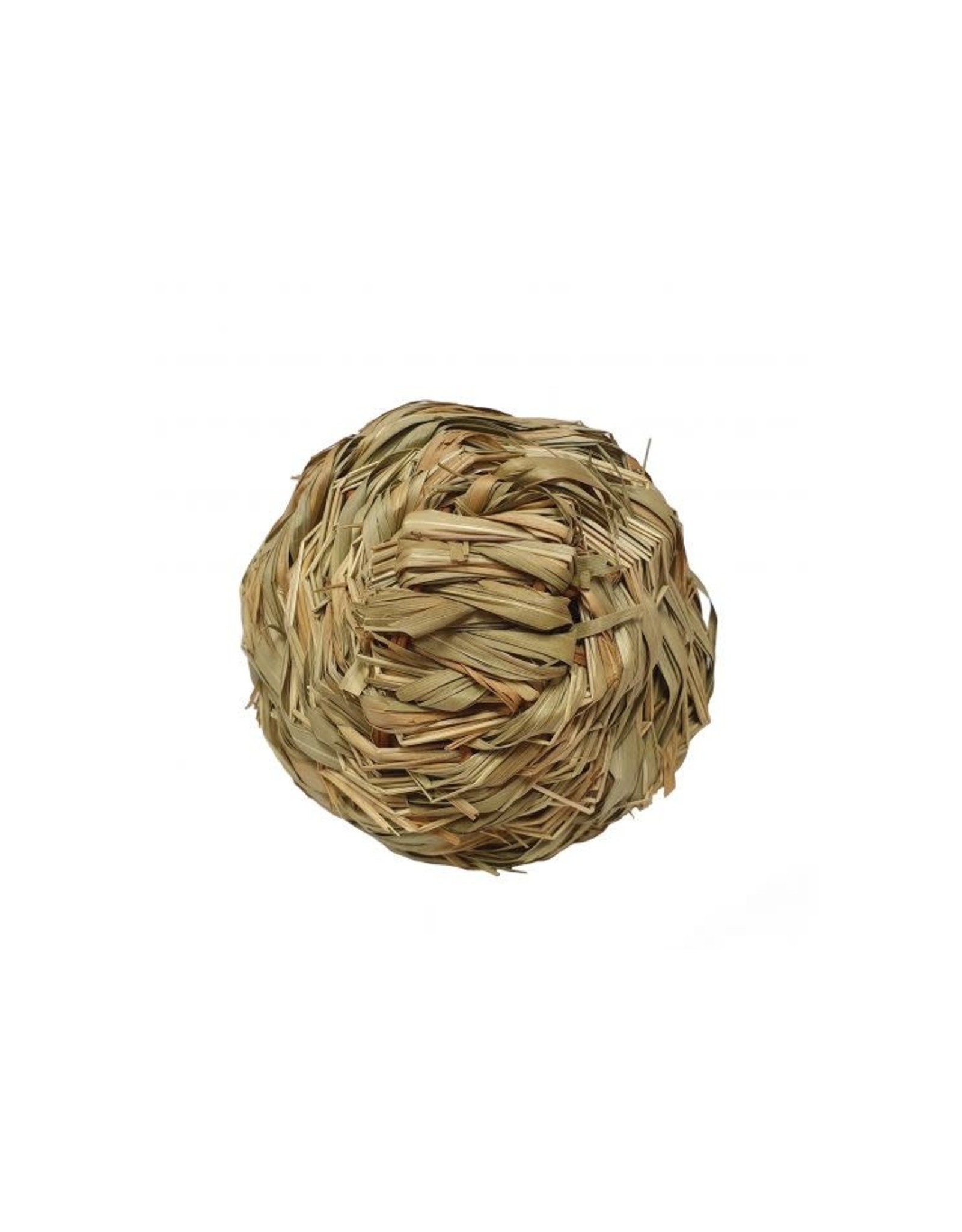 Ancol Bullrush Ball with Bell Small Animal Toy
