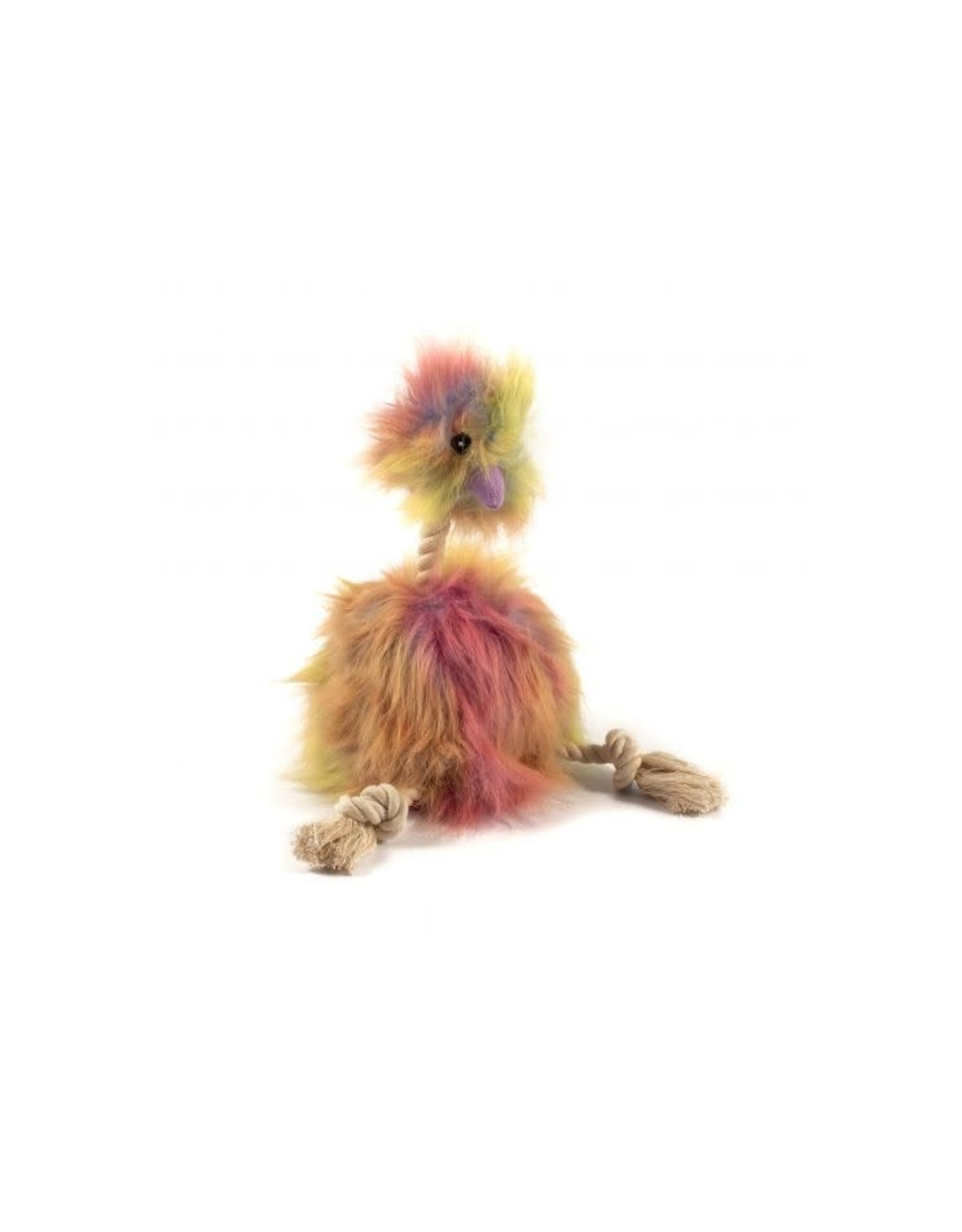 Ancol Fluffy Emu Squeaky Dog Toy, 34cm