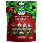 Oxbow Simple Rewards Baked Treats for Small Animals, Peppermint, 85.5g