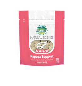 Oxbow Natural Science Supplements for Small Animals Papaya Support, 60 tablets