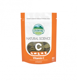 Oxbow Natural Science Supplements for Small Animals Vitamin C Supplement tablets, 60 tablets
