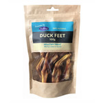 Hollings 100% Natural Duck Feet Dog Treats, 100g