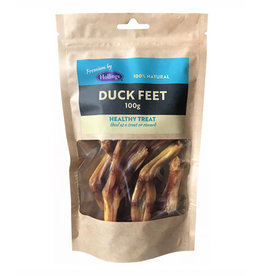 Hollings 100% Natural Duck Feet Dog Treats, 100g