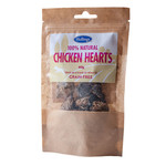 Hollings 100% Natural Chicken Hearts Grain Free Dog Treats, 60g