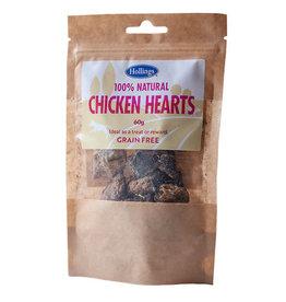 Hollings 100% Natural Chicken Hearts Grain Free Dog Treats, 60g