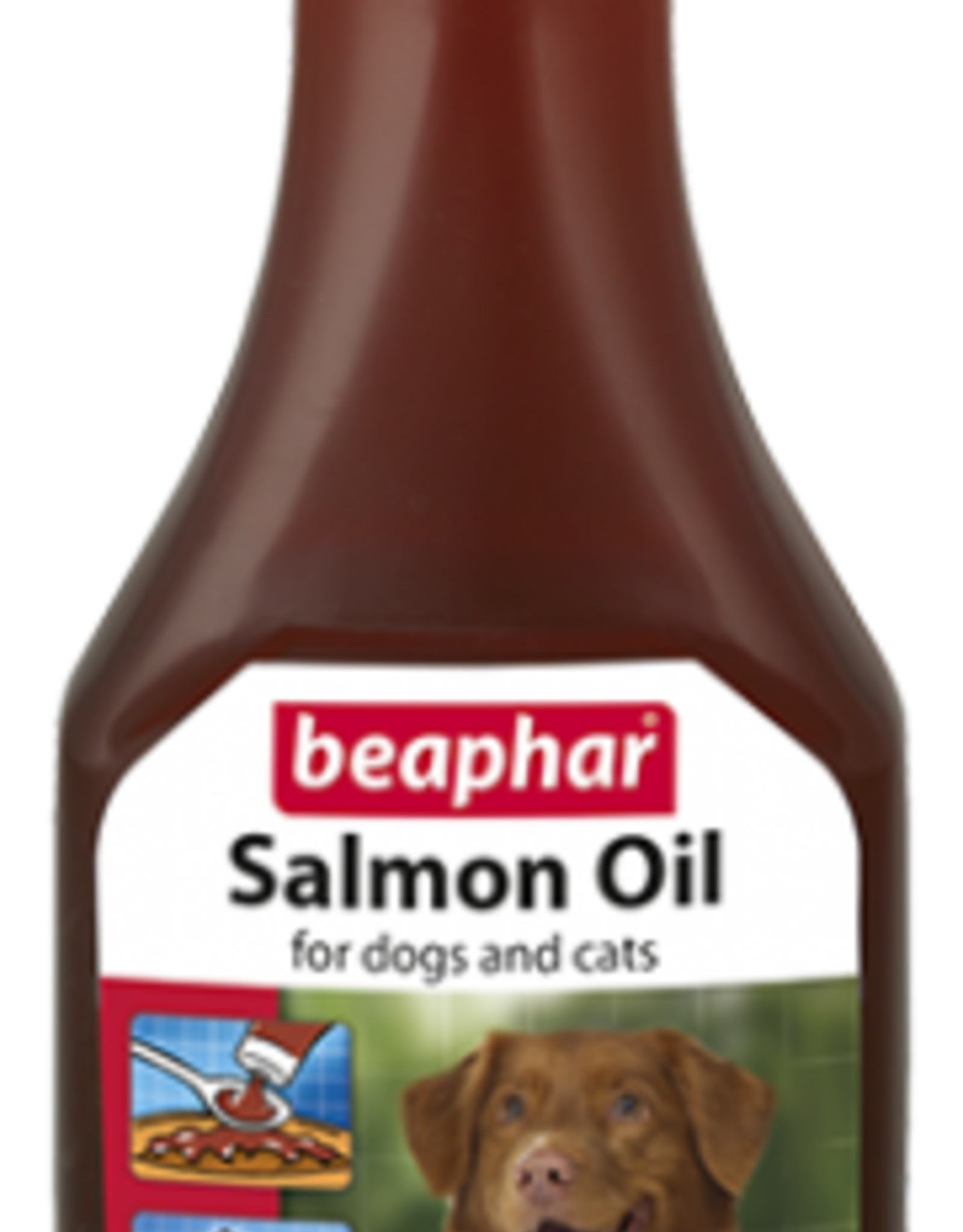 Beaphar Salmon Oil for Dogs & Cats, 425ml
