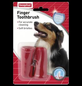 Beaphar Finger Toothbrush for Dogs, 2 pack