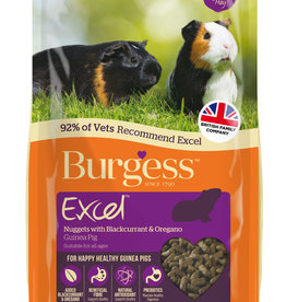 Burgess Excel Guinea Pig Food, Blackcurrant & Oregano