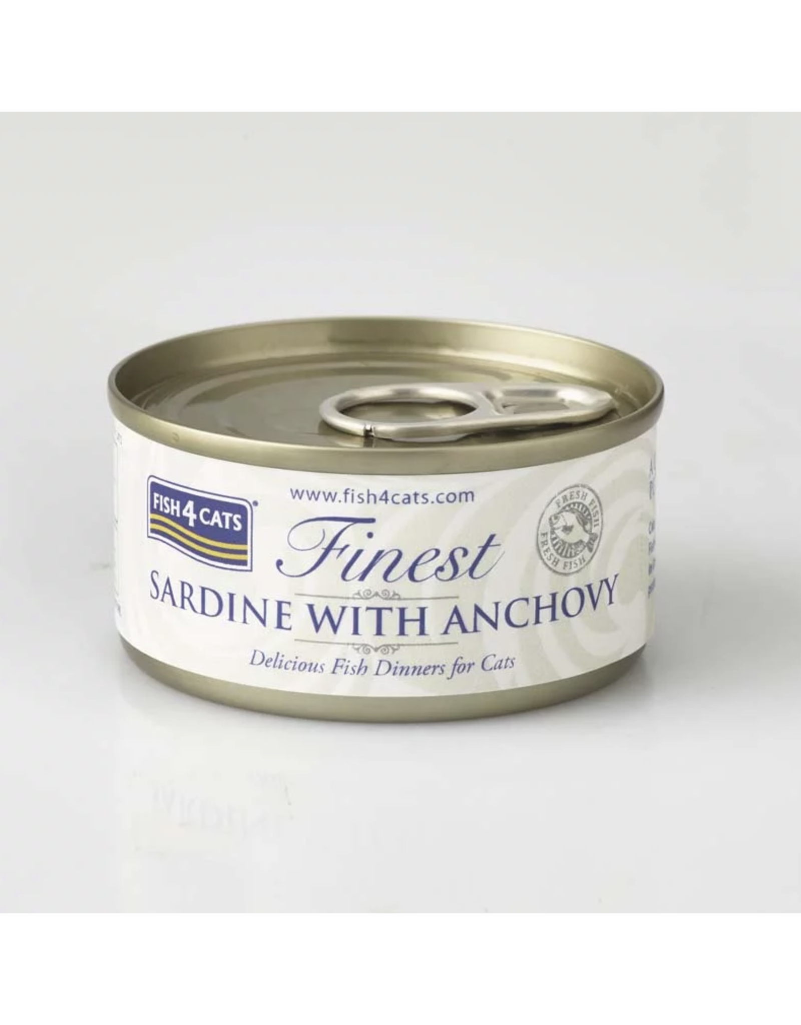 Fish4Cats Finest Sardine with Anchovy Wet Cat Food, 70g