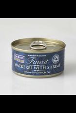Fish4Cats Finest Mackerel with Shrimp Wet Cat Food, 70g