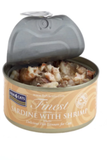 Fish4Cats Finest Sardine with Shrimp Wet Cat Food, 70g