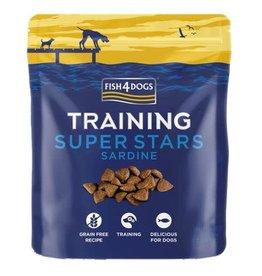 Fish4Dogs Super Stars Sardine Training Dog Treats, 150g