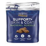 Fish4Dogs Support+ Skin & Coat Mackerel Morsels Treats for Dogs, 225g
