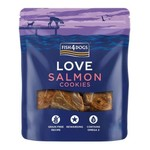 Fish4Dogs Love Salmon Cookies Treats for Dogs, 100g