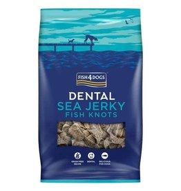 Fish4Dogs Dental Sea Jerky Fish Knots Dog Chews, 500g