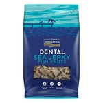 Fish4Dogs Dental Sea Jerky Fish Knots Dog Chews, 100g