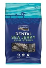 Fish4Dogs Dental Sea Jerky Fish Strips Dog Chews, 100g