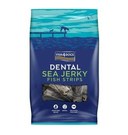 Fish4Dogs Dental Sea Jerky Fish Strips Dog Chews, 500g