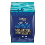 Fish4Dogs Dental Sea Jerky Fish Tiddlers Dog Treats, 115g