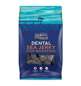 Fish4Dogs Dental Sea Jerky Fish Whoppers Dog Chews, 500g