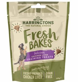 Harringtons Fresh Bakes Chicken Liver Dog Training Treats, 100g