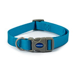 Ancol Viva Quick Fit Adjustable Poly-Weave Dog Collar, Blue