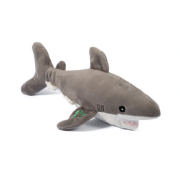 Ancol Pete the Shark Cuddly Dog Toy Made From Recycled Materials, 33cm
