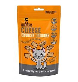 Rosewood Daily Eats Crunchy Cushions Cheese Cat Treats, 60g